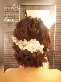 ウェディングヘア ヘアアレンジ 結婚式 bridal weddinghair ヘアメイク hairarrange