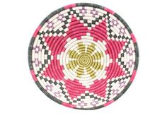 """10"""" Hope Basket, Sparkling Pink"""