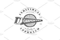 8 Carpentry Logos Templates Vol.2 - Logos