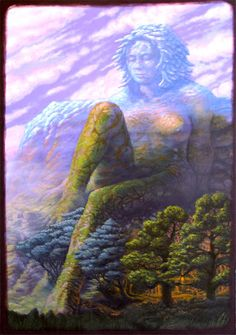 Artwork: Isis the Goddess by fantasy artist Tony Hough. See more artwork by this featured artist on the fantasy gallery website. Isis Goddess, Earth Goddess, Mother Goddess, Goddess Art, Gaia, Sacred Feminine, Divine Feminine, Divine Mother, Mother Earth