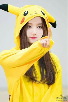 My Pikachu Beauty Korean Beauty Girls, Korean Girl, Asian Beauty, Asian Girl, Nancy Momoland, Kpop Girl Groups, Kpop Girls, Pikachu, Girl Korea