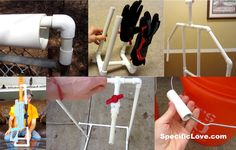 10 Life Hacks with PVC #8 - [Watch Video] - We have made 10 Lifehacks to make your life easier using standard PVC pipe. These are easy and simple to build, repurpose, and reuse. - www.specificlove.com - https://www.youtube.com/watch?v=YUDQaOaGNcU - #lifehacks #pvcpipe - Lifehacks are great techniques, tricks, shortcuts, or novelty ways to use certain products in uncommon ways to make life easier.
