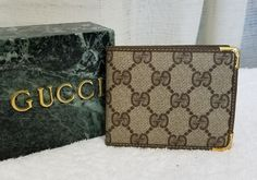 Vintage Gucci GG Monogram Mens Wallet 70s Excellent Condition | Clothing, Shoes & Accessories, Men's Accessories, Wallets | eBay!