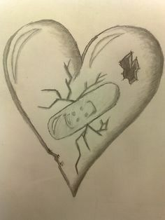 cool drawings of hearts cool drawing of hearts cool easy drawings Easy Pencil Drawings, Easy Love Drawings, Pencil Drawing Pictures, Pictures To Draw, Drawing Ideas, Drawing Tips, Drawing Drawing, Drawing Hands, Pencil Sketching