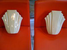 Pair of Art Deco Wall Pockets