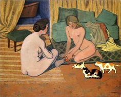 Cats in 20th Century History and Art (Part 4-Félix Vallotton)