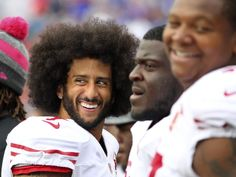 49ers vs. Bills:     October 16, 2016  -  45-16, Bills  -     San Francisco 49ers quarterback Colin Kaepernick (7) stands on the sidelines during the second half of an NFL football game against the Buffalo Bills on Sunday, Oct. 16, 2016, in Orchard Park, N.Y. (AP Photo/Bill Wippert)