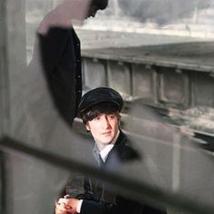 Still so much angst after puberty. — The Beatles on a train platform during the filming. Ringo Starr, Paul Mccartney, One And Only, John Lennon Yoko Ono, Train Platform, I Robert, Matthew Perry, Slash, Fandom