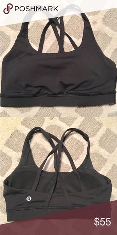 Lululemon Energy Sports Bra Padding included; recently purchased about a week ago lululemon athletica Tops