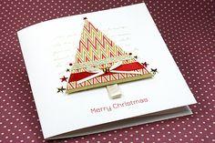 """Handmade Christmas Card """"Holiday Cheer"""""""