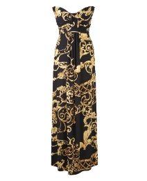 AX Paris Baroque Print Maxi Dress - Length from 54in