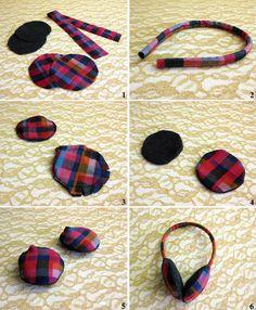 ear muffs!!!!   from DIY & Craft Accessorize