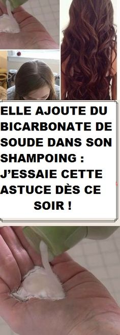 ELLE AJOUTE DU BICARBONATE DE SOUDE DANS SON SHAMPOING : J'ESSAIE CETTE ASTUCE DÈS CE SOIR ! Glowing Face, Beauty Box, Beauty Care, Beauty Hacks, Sodium Bicarbonate, Diy Makeup, Makeup Tips, Natural Beauty Tips, Vaseline