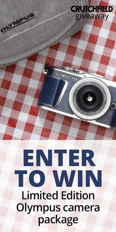 Enter to win a limited edition Blue Denim Olympus PEN Kit from Crutchfield Photography Projects, Photography Tricks, Back To School Essentials, Enter To Win, Olympus, Videography, Photo Book, Blue Denim, Giveaway