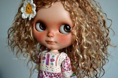 Amy custom no. 159 OOAK custom neo blythe doll by tinycutethings