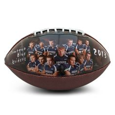 Create a customized football to congratulation your team's senior athletes, and … – American Football Football Banquet, Football Fever, Youth Football, School Football, Sport Football, Football Shirts, Football Stuff, Alabama Football, Football Season