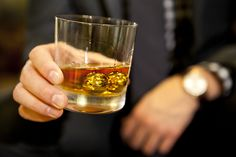 These Gold-Plated Whiskey Balls Keep Your Spirit Chilled And Help Fight Cancer
