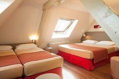 La chambre quadruple au Coeur de City Hôtel Bordeaux Clémenceau - Hotel Bordeaux | Quadruple room at Coeur de City Hôtel Bordeaux Clémenceau