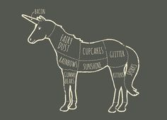 anatomia de un unicornio