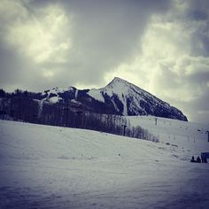 Last day of ski season #last #day #peak #skiing #crestedbutte #home #snow