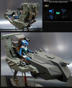 Gundam Cockpit | Studio Lecek