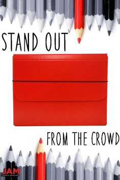 Stand out at work with a JAM Paper® Strong Portfolio Carrying Case with Elastic Band Closure. The vibrant red will not only bring your style up a notch, but will make sure that you get and stay organized! Paint the town red with your portfolio makeover and shop at JAM!