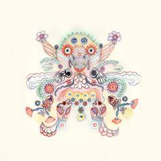 Tara Marynowsky, Baba Yoga watercolor on paper Baba Yaga, Types Of Art, Creative Inspiration, Psychedelic, Moose Art, Illustration Art, Watercolor, Fantasy, Drawings