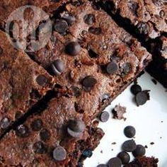Glutenvrije brownies met kokosmeel