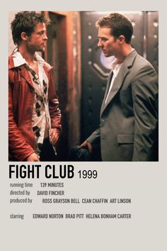 Iconic Movie Posters, Iconic Movies, Old Movies, Film Posters, Indie Movies, Polaroid, Fight Club 1999, Minimal Poster, Alternative Movie Posters