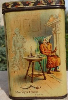 1897 'A Christmas Carol' by Charles Dickens tin