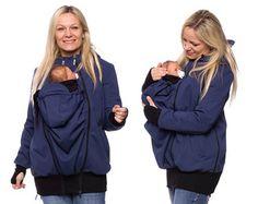 Baby carrying jacket baby carrier coat hoodie by VivalaMamaBerlin
