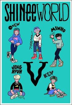 Shinee world V concert concept art by ブリッジシップハウス BRIDGESHIPHOUSE -- This is oddly amazing