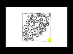 Zentangle Patterns   Tangle Patterns - Ansu - YouTube