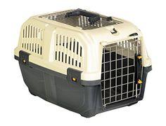 """Nobby 72135 Transportbox für kleine Hunde und Katzen """"Skudo 2 Open"""" 55 x 36 x 35 cm - http://www.transportbox-katzen.de/produkt/nobby-72135-transportbox-fuer-kleine-hunde-und-katzen-skudo-2-open-55-x-36-x-35-cm/"""