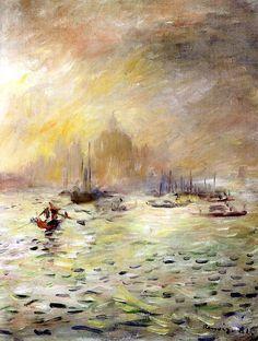 Pierre-Auguste Renoir (1841-1919) VENICE - FOG