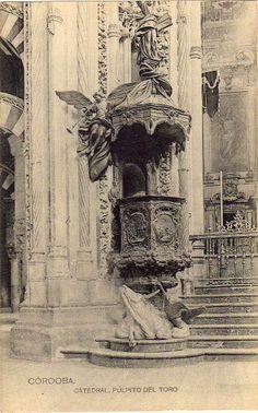 Córdoba. Catedral, Púlpito del Toro.