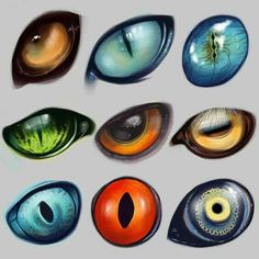 A bunch of dragon eyes for refrence.Random types of animal eyes.Love all these different creature eyes.Oh my god this is sooooo cute I actually have a hard time looking at it! So I believe in fairies, the myths, dragons. Fantasy Creatures, Mythical Creatures, Design Reference, Art Reference, Animal Drawings, Art Drawings, Wolf Drawings, Drawing Animals, Art Tutorials
