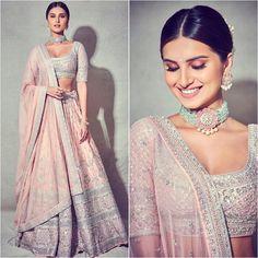 International Women's Day Best Female Indian Fashion Designer Choli Designs, Lehenga Designs, Saree Blouse Designs, Blouse Styles, Indian Lehenga, Indian Gowns, Indian Attire, Indian Wedding Lehenga, Indian Bridal Outfits