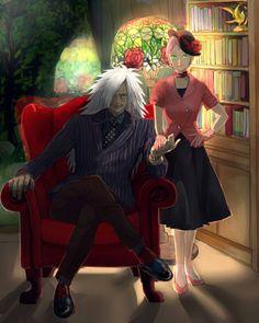 """March""-December MadaSaku My head is now stuck with May-December romance of MadaSaku."
