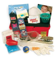 Looking for a fun and functional gift for a new dad? How about a unique baby shower gift for dad? The Daddy Diaper Changing Toolbox will have everyone tickled including the daddy-to-be when he receives a fun gift just for him! The Daddy Diaper Changing Toolbox new dad gift is a way for him to get in on the baby planning action and add a little fun to a baby shower ...
