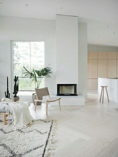 first fireplace (and very likely last) I've ever designed and couldn't be happier with the result Beautiful Houses Inside, Gravity Home, House Inside, Living Room Inspiration, Studio Apartment, Small Apartments, Living Room Interior, Living Spaces, House Design