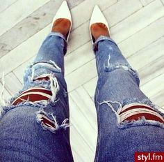 Ripped jeans @KortenStEiN
