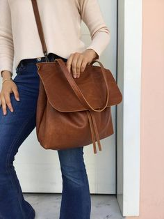 Best 12 Shoulder leather bag/ Brown distressed leather bag/ Cross-body leather bag by LaraKlass on Etsy Leather Pouch, Leather Bags, Leather Shoulder Bag, Distressed Leather, Tan Leather, Nude Bags, Tote Bags Handmade, Best Bags, Leather Accessories