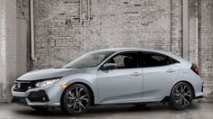 Arriving this fall in North America, the 2017 Civic Hatchback is the latest addition to the much-heralded Honda Civic lineup, joining the 2 Honda Civic Coupe, Honda Civic Hatchback, Honda Civic 2017, Hatchback Cars, New Honda, Concept Cars, Automobile, Sporty, Manual Transmission
