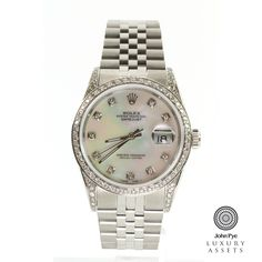 Rolex Datejust Gents Stainless Steel Automatic Watch