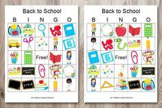 Fun Icebreakers, Icebreaker Activities, Back To School Images, School Photos, Free Printable Bingo Cards, Free Printables, Bingo Set, First Day Of School, Middle School