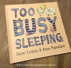 Book review Too Busy Sleeping