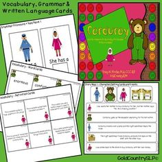 Corduroy-Language/Literacy Companion! Packed with activities that coordinate with the book.