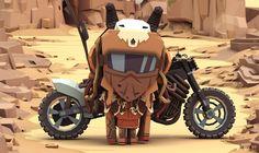 ArtStation - Mad Max Characters, ben regimbal