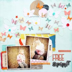 Layout by Angie with the May 2013 kits from Citrus Twist